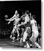 Basketball Game, C1960 Metal Print