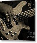 Bass Metal Print