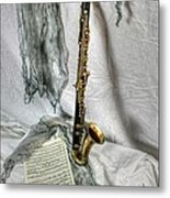 Bass Clarinet Metal Print
