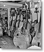 Bass Fiddle Convention Metal Print
