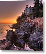 Bass Head Harbor Lighthouse Metal Print