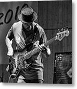 Bass Jazz Metal Print