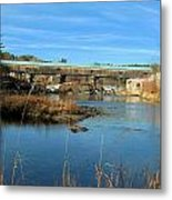Bath Covered Bridge Metal Print