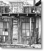 Baths Twenty Five Cents Bw Metal Print