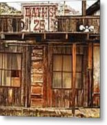 Baths Twenty Five Cents Metal Print