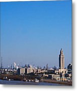 Baton Rouge Skyline Louisiana  Metal Print