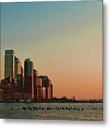 Battery Park City Metal Print
