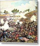Battle Of Bull Run, 1861 Metal Print