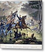 Battle Of Chantlly, 1862 Metal Print