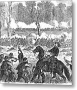 Battle Of Chickamauga 1863 Metal Print