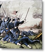 Battle Of Jonesboro, 1864 Metal Print