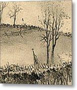 Battle Of Kernstown, 1862 Metal Print