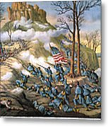 Battle Of Lookout Mount Metal Print by Granger