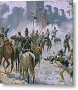 Battle Of Solferino And San Martino Metal Print