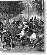 Battle Of The Thames Metal Print
