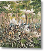Battle Of The Wilderness May 1864 Metal Print