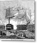 Battle Of Trafalgar, 1805 Metal Print
