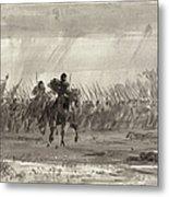 Battle Of Williamsburg Metal Print