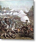 Battle Of Winchester, Metal Print