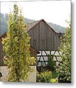 Bavarian Barn Metal Print