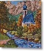Bavarian Country Metal Print