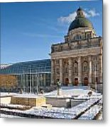 Bavarian State Chancellery Metal Print