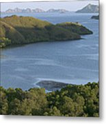 Bay And Outlying Islands Off Rinca Metal Print
