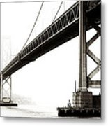 Bay Bridge Metal Print by Jarrod Erbe