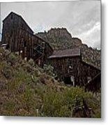 Bayhorse Mill  Metal Print