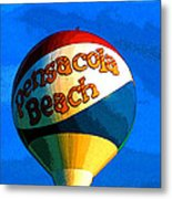 Beach Ball Metal Print