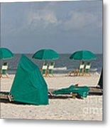 Beach Furniture II Metal Print