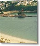 Beach In Galicia Metal Print by Jenny Senra Pampin