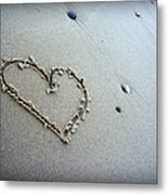 Beach Love Metal Print
