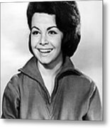 Beach Party, Annette Funicello, 1963 Metal Print
