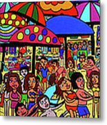Beach Party Metal Print