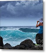 Beach Pictures Metal Print