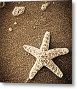Beach Star Metal Print