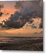 Beach Sunrise Obx  - C0983d Metal Print