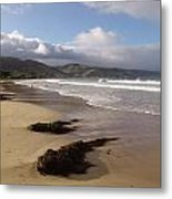 Beach Surf Metal Print