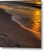 Beach Walk - Part 2 Metal Print