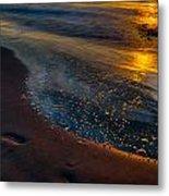 Beach Walk - Part 4 Metal Print