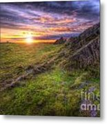 Beacon Hill Sunrise 11.0 Metal Print