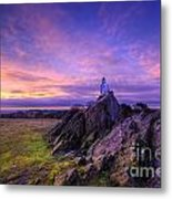 Beacon Hill Sunrise 2.0  Metal Print