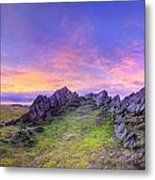 Beacon Hill Sunrise 3.0 Pano Metal Print