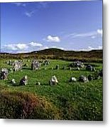 Beaghmore Stone Circles, Co. Tyrone Metal Print by The Irish Image Collection