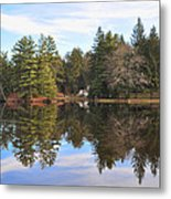 Bear Creek Lake Metal Print