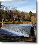 Bear Creek Lake Waterfall Metal Print