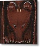 Bear Metal Print by Sophy White