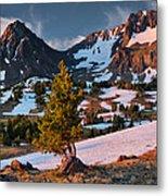 Beartooth Sunrise Light Metal Print