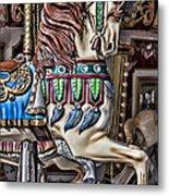 Beautiful Carousel Horse Metal Print